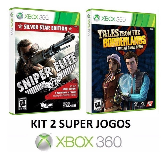 Sniper Elite V2 + Tales From The Borderlands - Xbox 360