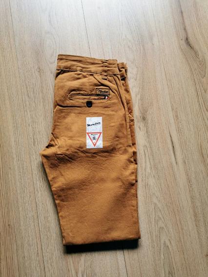 Pantalón Gabardina De Niño Talla 1 A La 16 Skini Ajustable