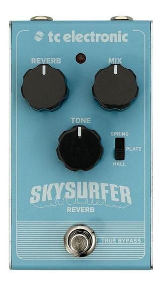 Pedal De Efeito Tc Electronic Skysurfer Reverb