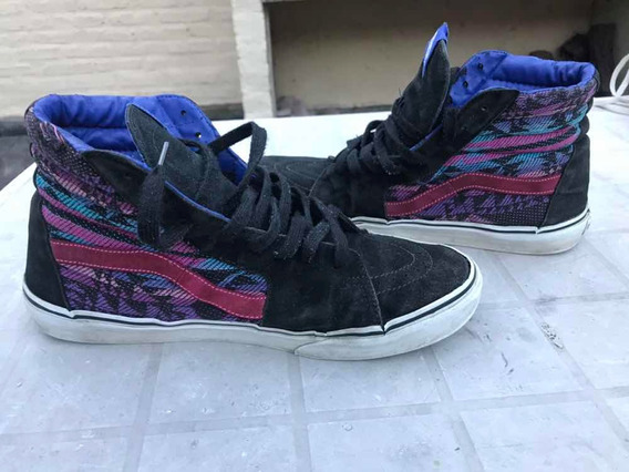 Zapatillas Vans Botitas Skate Usa 10.5 Hombre Usadas