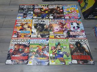 Lote 46 Revistas Club Nintendo Y Conexion Manga