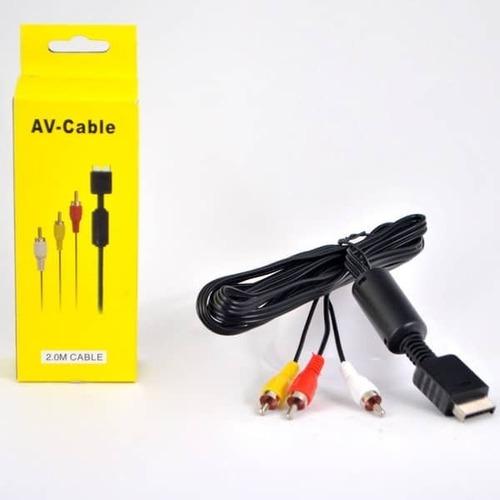 Cable Av Rca Play 2 Play 3 Audio Y Video Nuevos