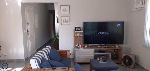 Apartamento Com 3 Dorms 1 Por Andar, Enseada, Guarujá, - V17469
