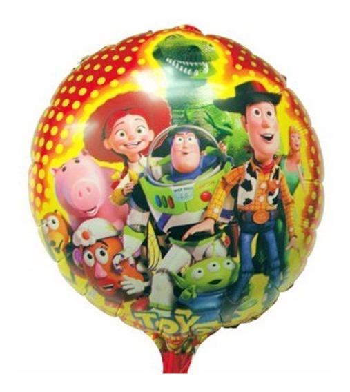 5 Globo Metalico Helio 18pulg/45cm Toy Story