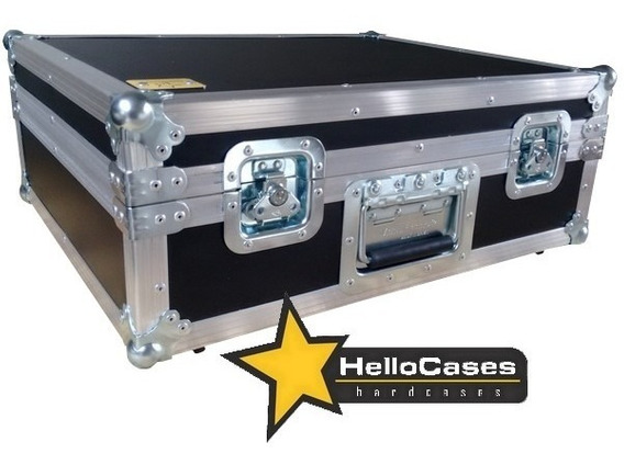 Hard Case Par Toca Discos Pickup Audio Technica