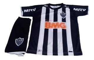 Conjunto Uniforme Infantil Atlético Mineiro Modelo Novo