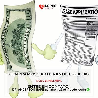 Compro Carteira De Locação (imóveis)