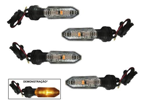 Pisca Led Cb 250 Twister Xre 300 Titan 160 150 Kit 4pçs