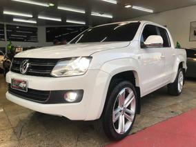 Volkswagen Amarok 2.0 Highline Cd 4x4 2015 Branca + Aro 22