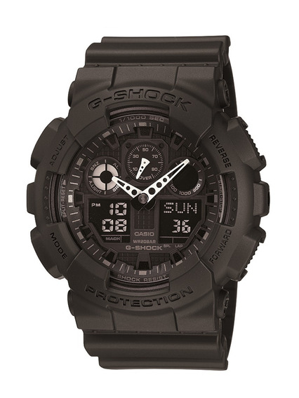 Relógio Masculino Casio G-shock Ga-100-1a1dr Original