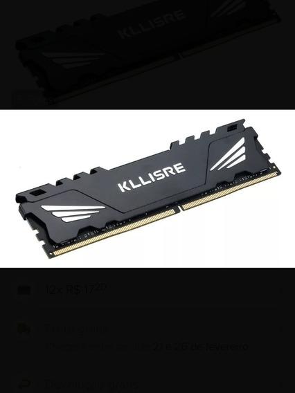 Memória Kllisre Ddr4 , 8gb ,2666 Mhz ,nova Na Embalagem