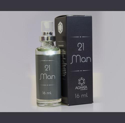 21 Man (masculino) 16 Ml, Fixação Intensa Acima De 20 Horas