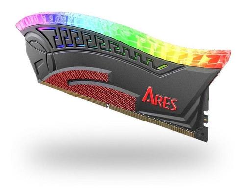 Imagem 1 de 6 de Memoria Gamer Ddr4 Ares Armor Dato Rgb 3200 Cl16 2x8gb  Bk
