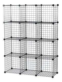Cubos De Almacenamiento - Wire Storage Cubes - 12 Cubos
