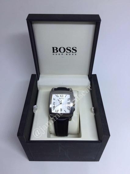 Relógio Masculino Hugo Boss Pulseira Em Couro