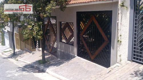 Casa Com 3 Dormitórios À Venda, 126 M² Por R$ 658.000,00 - Vila Catupia - São Paulo/sp - Ca0952