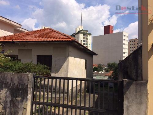 Terreno Com Casa Antiga, Centro, São Bernardo Do Campo. - Te0188
