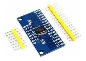 Multiplexador Analógico/digital 16 Canais Cd74hc4067 Arduino