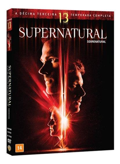 Box Original : Supernatural - Sobrenatural 13ª Temporada Dvd
