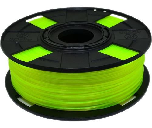 Filamento Abs Premium 1,75 Mm 500g Impressora 3d Olivina