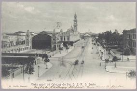 Gaensly - Estação Da Luz - 1907 - 18011929