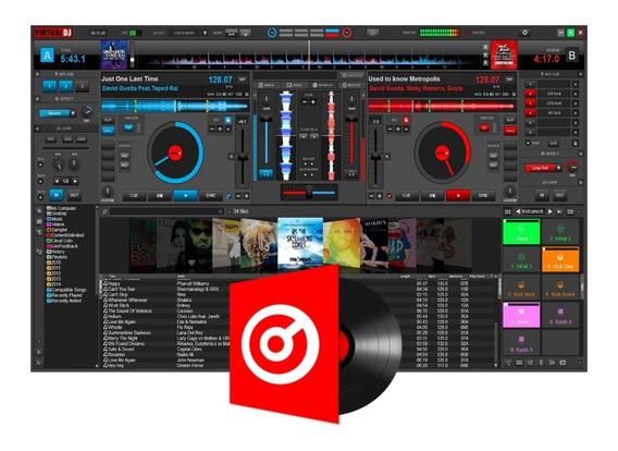 Virtual Dj Pro 8.3 4514 Mac Ou Virtual Dj V5186 P/ Windows
