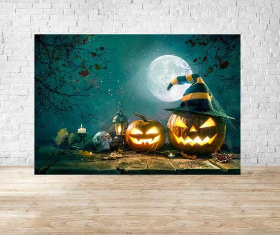 Fundo Fotográfico Em Tecido Halloween - Hlw04
