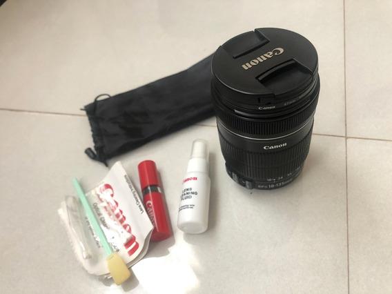 Lente Canon Ef-s 18-135mm + Filtro Protetor (imperdível)
