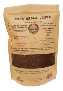 Café De Chiapas 100% De Altura Tostado Artesanal Molido 1kg