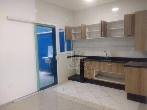 Casa À Venda, 80 M² Por R$ 1.300.000,00 - Parque Das Nações - Santo André/sp - Ca1419