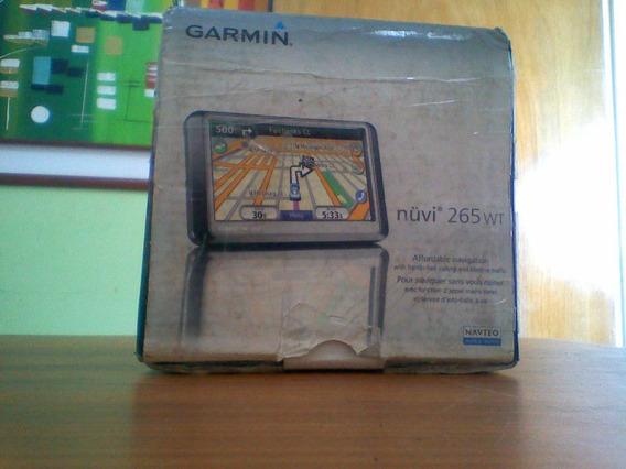 Gps Garmin Nuvi 265wt.