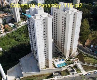 Cobertura Em Jardim Parque Morumbi, São Paulo/sp De 116m² 3 Quartos À Venda Por R$ 415.000,00 - Co189989