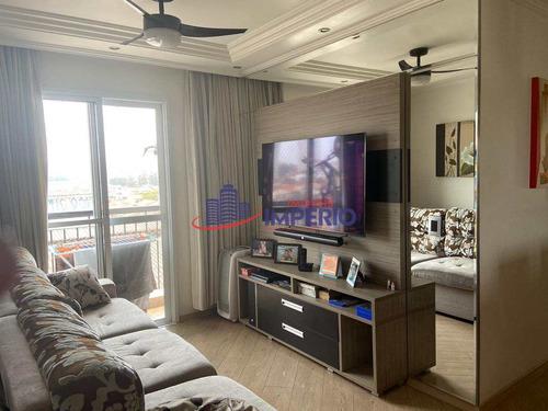 Imagem 1 de 26 de Apartamento Com 3 Dorms, Ponte Grande, Guarulhos - R$ 370 Mil, Cod: 6393 - V6393