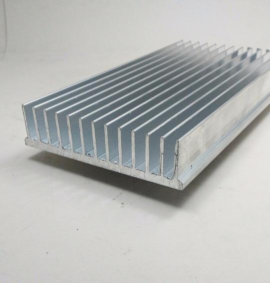 4 Pç Dissipador Calor Aluminio 10,4cm Largura C/ 30cm