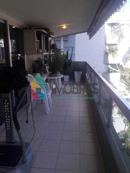 Apartamento Com 4 Quartos E 3 Vagas Escrituradas No Alto Leblon!!! - Cpap40190