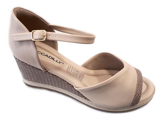 Zapato Mujer Piccadilly Zueco Moño Taco Chino 6cm Con Presilla