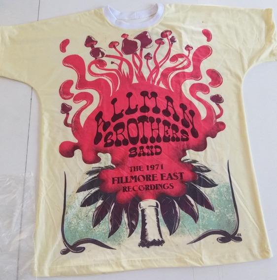 Camiseta U26 The Allman Brothers Band Rock