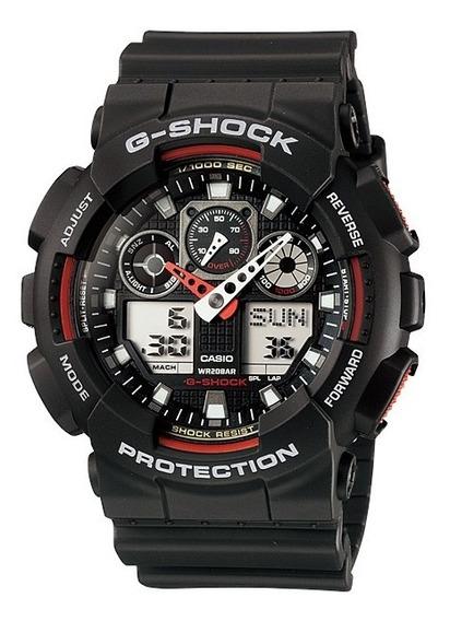 Relogio Casio G-shock Ga 100-1a4dr Original