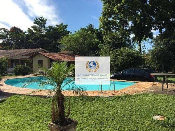 Chácara Com 4 Dormitórios À Venda, 1635 M² Por R$ 780.000 - Loteamento Chácaras Vale Das Garças - Campinas/sp - Ch0082