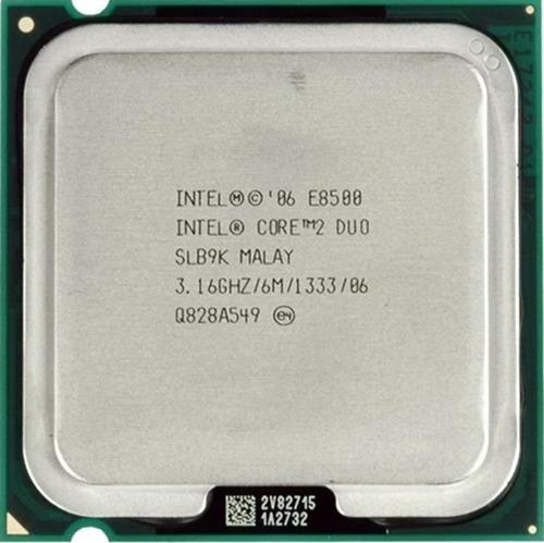 Imagem 1 de 1 de Processador Dual Core E8500 775 3.16ghz - Envio Em 24h