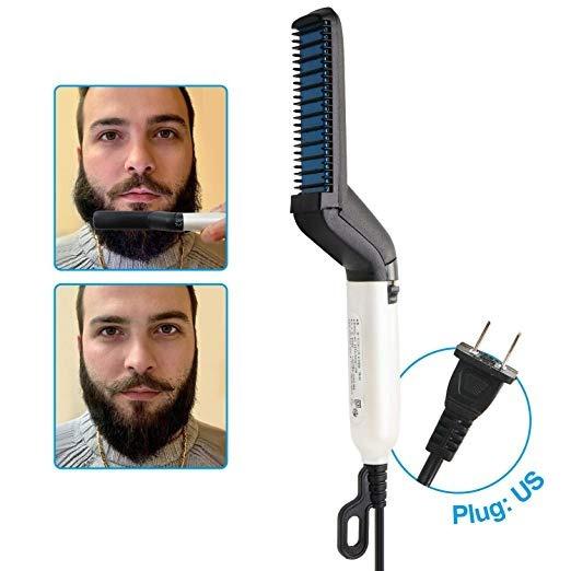 Plancha Especial Para Barba Y Pelo Barberia Salon Bigote