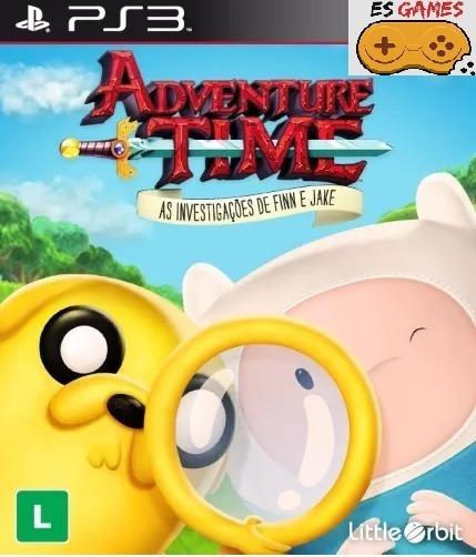 Adventure Time - As Investigações De Finn E Jake - Psn Ps3