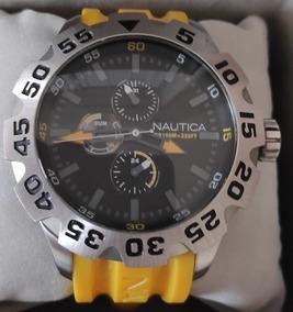 Relógio Náutica N15566g Amarelo