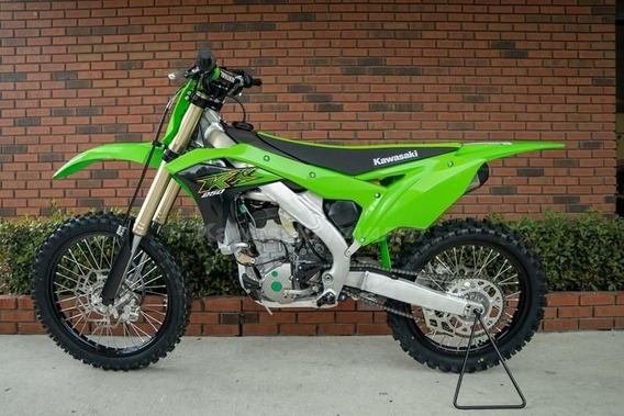 Kawasaki Kx 250 F 0km Linea 2020 En Stock! Color Lime.