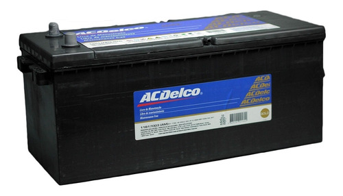 Bateria Maquinas Acdelco Gold 170 Amp Der Nautica Agricola C