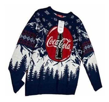 Suéter Coca Cola Pull&bear Talla M
