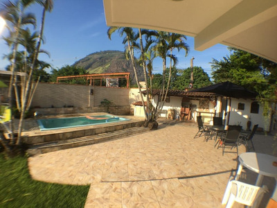 Casa Em Vargem Pequena, Rio De Janeiro/rj De 415m² 5 Quartos À Venda Por R$ 800.000,00 - Ca217869