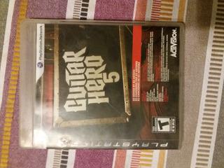Juego Guitar Hero 5 Ps3 (usado)