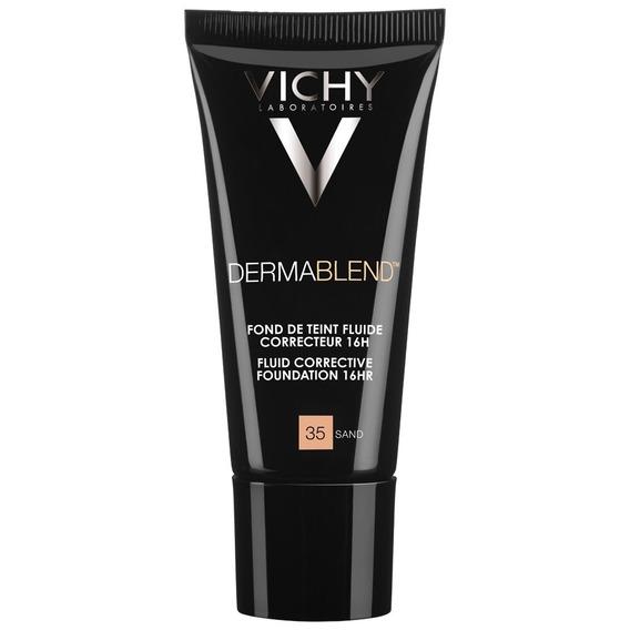 Vichy Dermablend Fluido Base Maquillaje Tono Sand 30ml