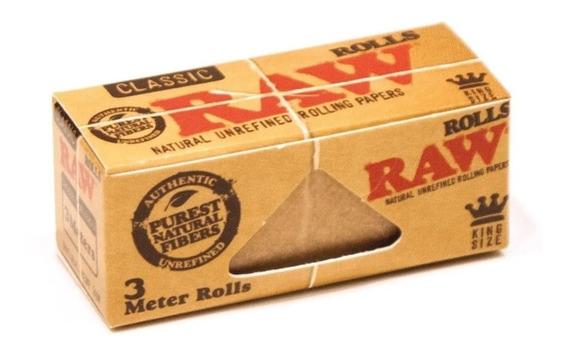 Rollo Papel Para Armar King Size 3 Metros Raw Rolls